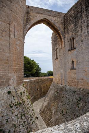 Bellver Castle fortress in Palma-de-Mallorca, Spain
