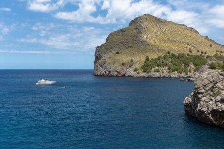 Seascape. North coast of the island of Mallorca, Spain Imagens