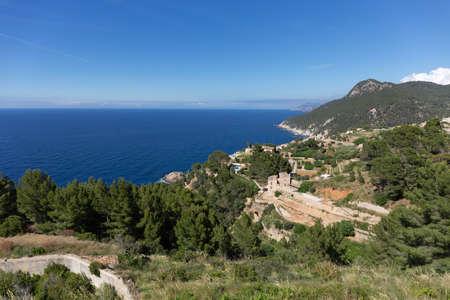 West coast of Mallorca, Spain 版權商用圖片