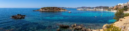 Panorama of the beach Portals Nous of Mallorca, Spain