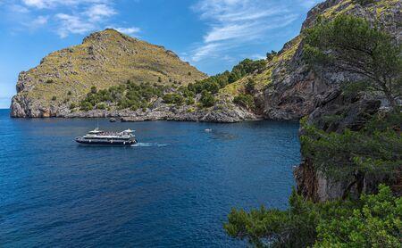 Seascape, coast of the island of Mallorca, Spain