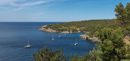 Landscape with coast of Mallorca, Spain
