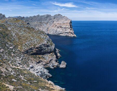 views of the famous Cape de Formentor, Mallorca Spain 版權商用圖片