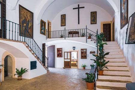 Majorca, Spain - 7.06.2019: Santuari de Sant Salvador Monastery, near Felanitx