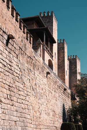 Old fortress, Cathedral of Palma de Mallorca, Spain