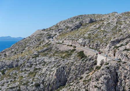 Views of the famous Cape de Formentor, Mallorca Spain