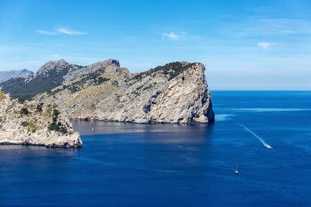Views of the famous Cape de Formentor, Mallorca