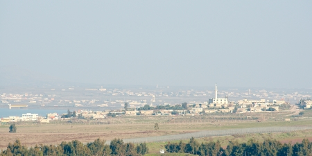 ceasefire: Syrian town near demilitarized zone between Syria and Israel Editorial