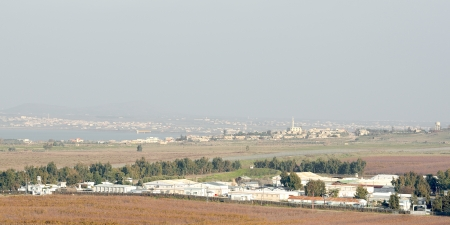 UN base in demilitarized zone between Syria and Israel