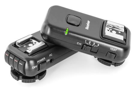 Trigger set for studio impulse flash lights. Wireless radio remote control.