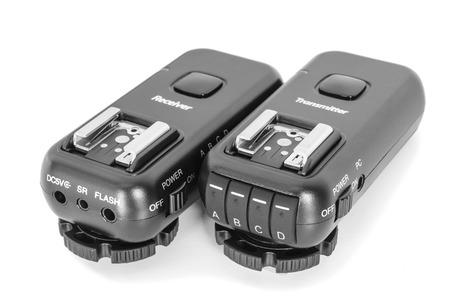 ttl: Wireless multichannel radio trigger set for studio flash light remote fire