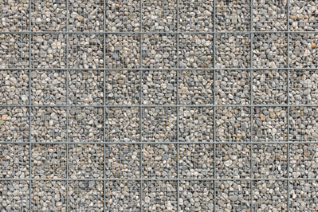 armature: Background with a lot of pebble gravel stones texture filled in wire armature mesh grid
