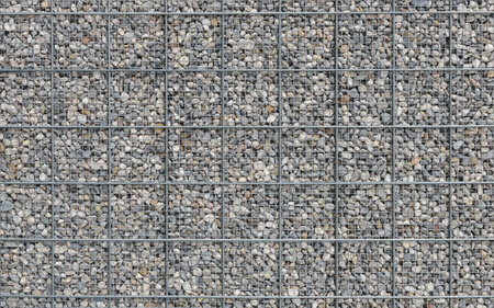 metal grate: Building construction bulk wall or fence. Stock photo with texture for background. Stock Photo