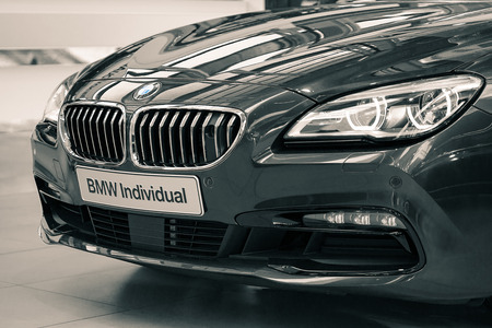 Munich, Germany - July 15, 2017: Prestigious deluxe edition of BMW Individual car based on 650i special exclusive model
