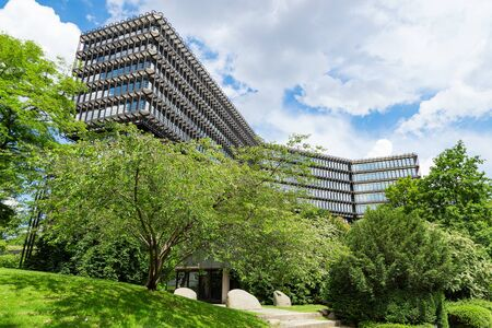 Munich, Germany - June 2, 2018: European Patent Office EPO headquarters modern building