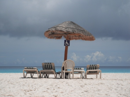 roo: Canc�n Beach, Quintana Roo, M�xico, Resort Stock Photo
