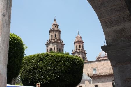 Catedral de Morelia  Morelia Cathedral, Morelia, Michoacan, Mexico