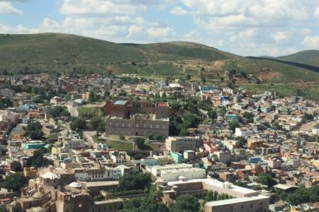 Zacatecas, Mexico  Downtown Panoramic View