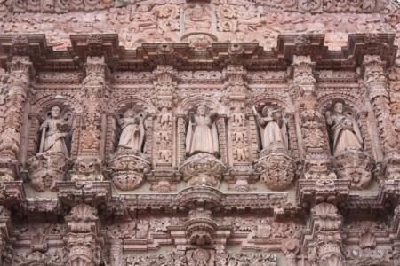 Catedral Basilica de Zacatecas, Mexico  La virgen de la Asuncion
