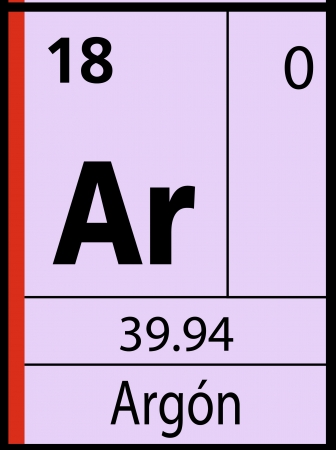 graphic flerovium: Argon, periodic table