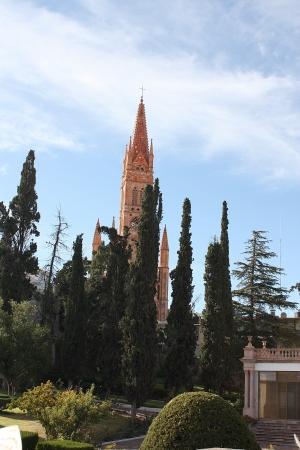 Fatima church in Zacatecas Mexico