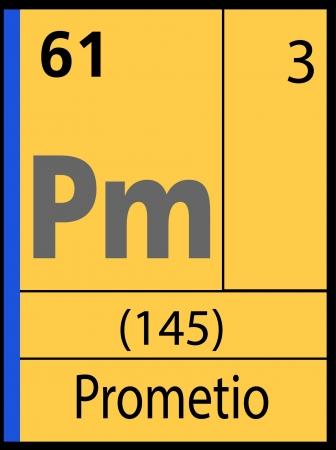 graphic flerovium: Prometio, periodic table