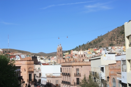 Zacatecas Mexico, panoramic view Stock Photo