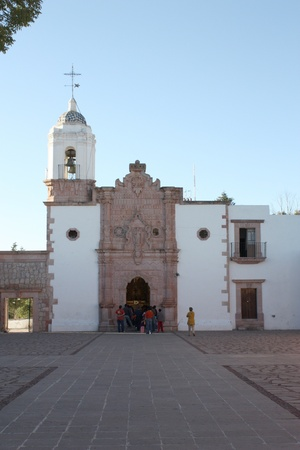 Church in La Bufa, Zacatecas Mexico