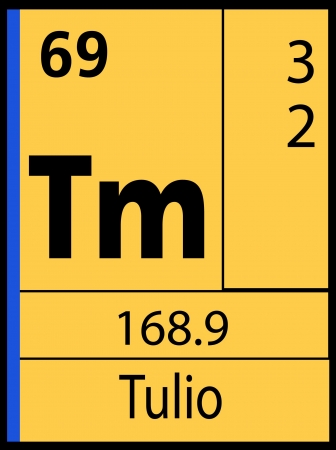 livermorium: Tulio, periodic table