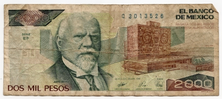 Old Mexican bill