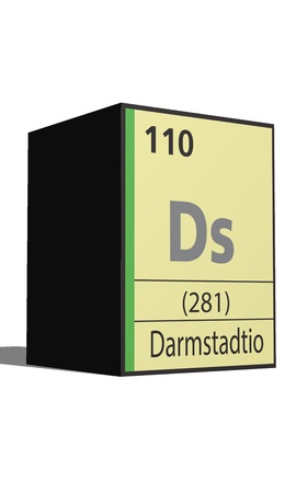 actinides: Damstadio, Periodic table of the elements