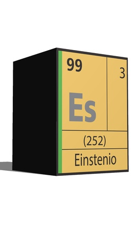 Einstenio, Periodic table of the elements