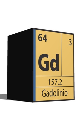 lanthanides: Gadolinio, Periodic table of the elements