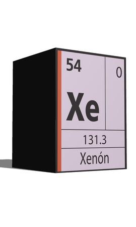 xenon: Xenon, Periodic table of the elements