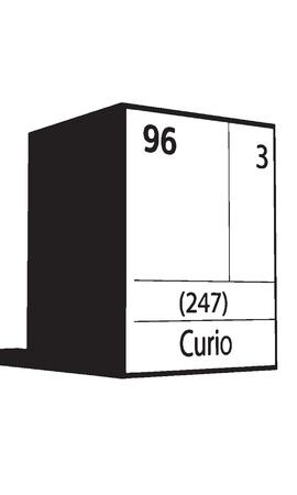 curio: Curio, line art element of periodic table