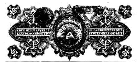 Illustration of money banknotes stack over white background Ilustrace