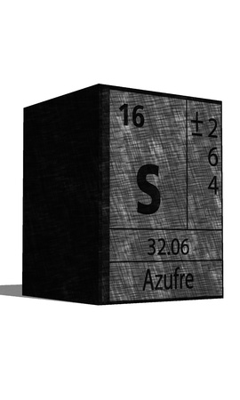 isotopes: S Chemical element of the periodic table with symbol