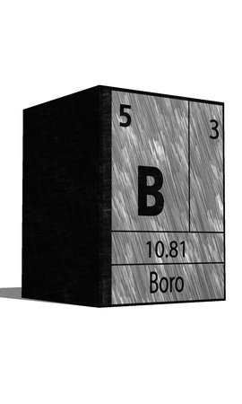 isotopes: B Chemical element of the periodic table with symbol