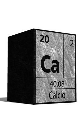 ca: Ca Chemical element of the periodic table with symbol