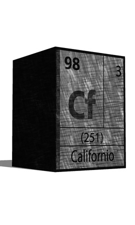 substances: Cf Chemical element of the periodic table with symbol