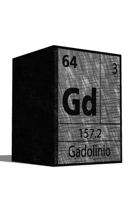 isotopes: Gd Chemical element of the periodic table with symbol
