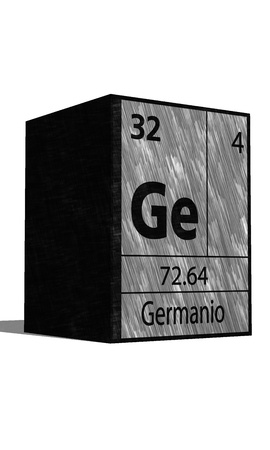 protons: Ge Chemical element of the periodic table with symbol