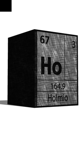 ho: Ho Chemical element of the periodic table with symbol