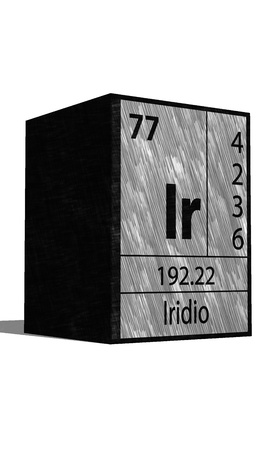substances: Ir Chemical element of the periodic table with symbol