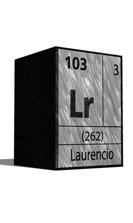 substances: Lr Chemical element of the periodic table with symbol