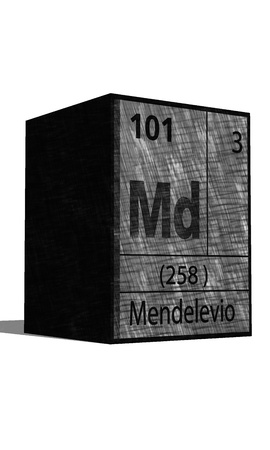 md: Md Chemical element of the periodic table with symbol