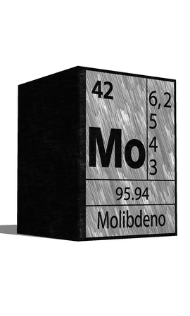 substances: Mo Chemical element of the periodic table with symbol
