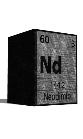 protons: Nd Chemical element of the periodic table with symbol