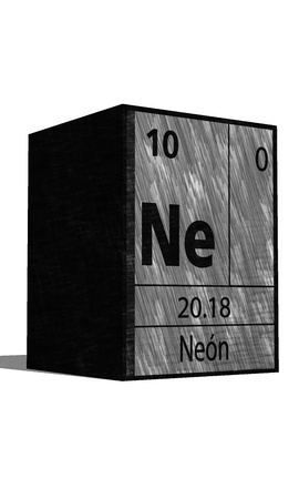 ne: Ne Chemical element of the periodic table with symbol