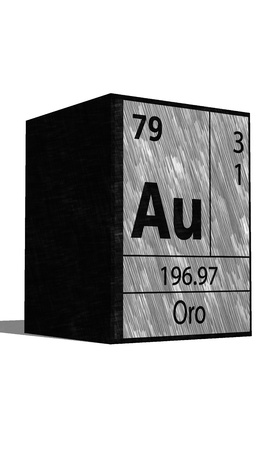 neutrons: Au Chemical element of the periodic table with symbol